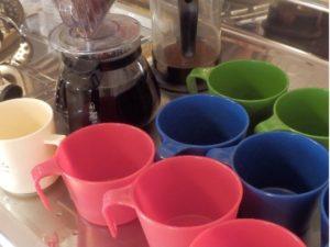 ドリップコーヒー,ティータイム